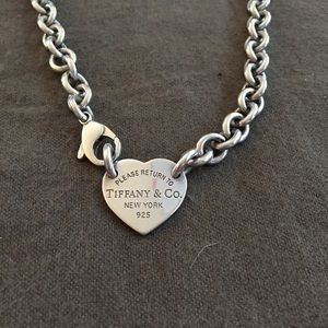 Return to Tiffany tag necklace